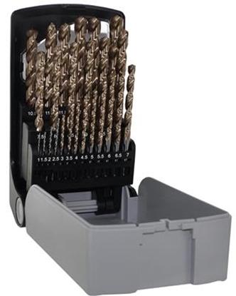 Afbeeldingen van Koffer boren HSS FURIUS 25 stuks 0.5MM 1-13MM