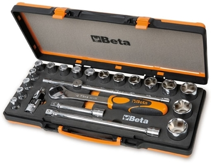 "Picture of BETA 1/2"" set dopsleutels 1/2"" 920A/C17M PROMO"