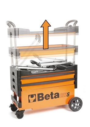 Afbeeldingen van BETA gereedschapswagen C27S PROMO