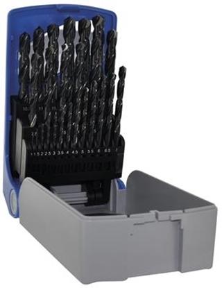 Afbeeldingen van Koffer 25 met.boren TSX HSS 1-13/0.5MM