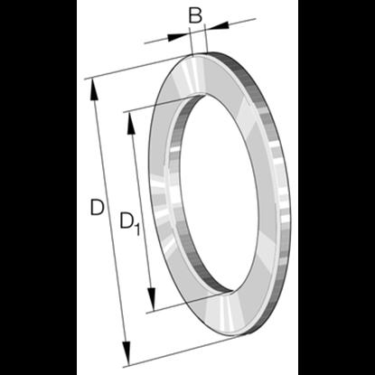 Afbeeldingen van Axiaal schijf LS 1024