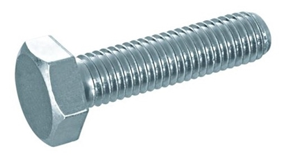 Picture of Zeskanttapbout DIN933 ELVZ 8.8 M22x55